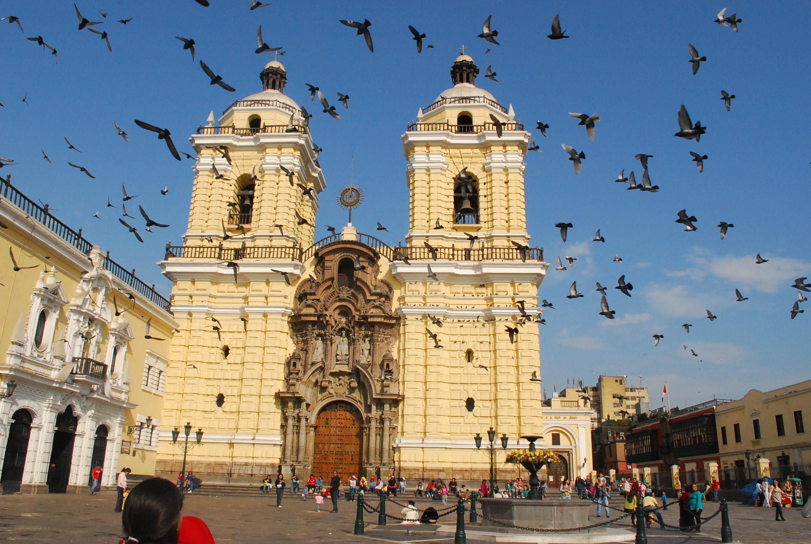 Convento San Francisco em Lima, Peru