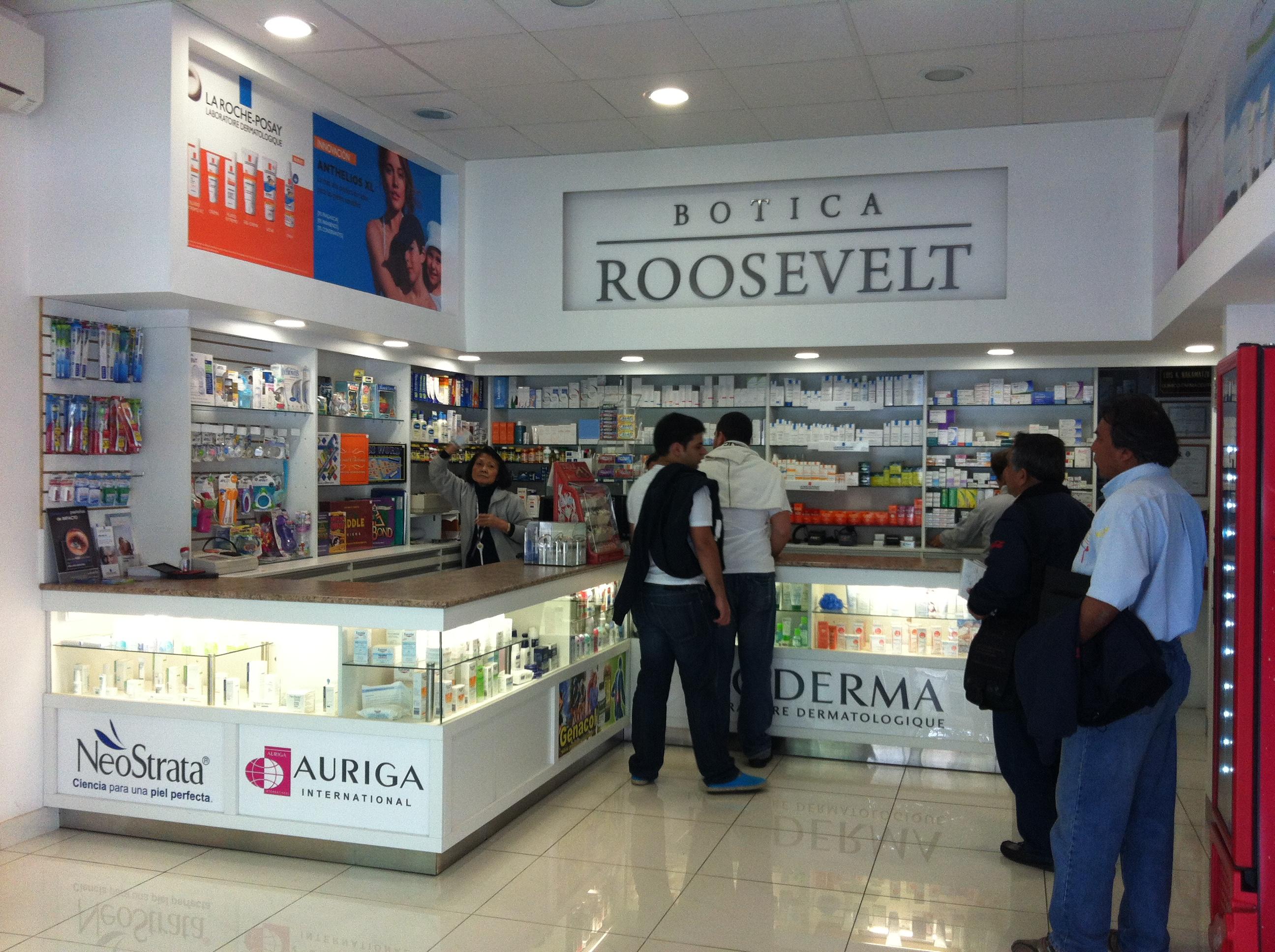 Farmácia Roosevelt, Lima, Compras
