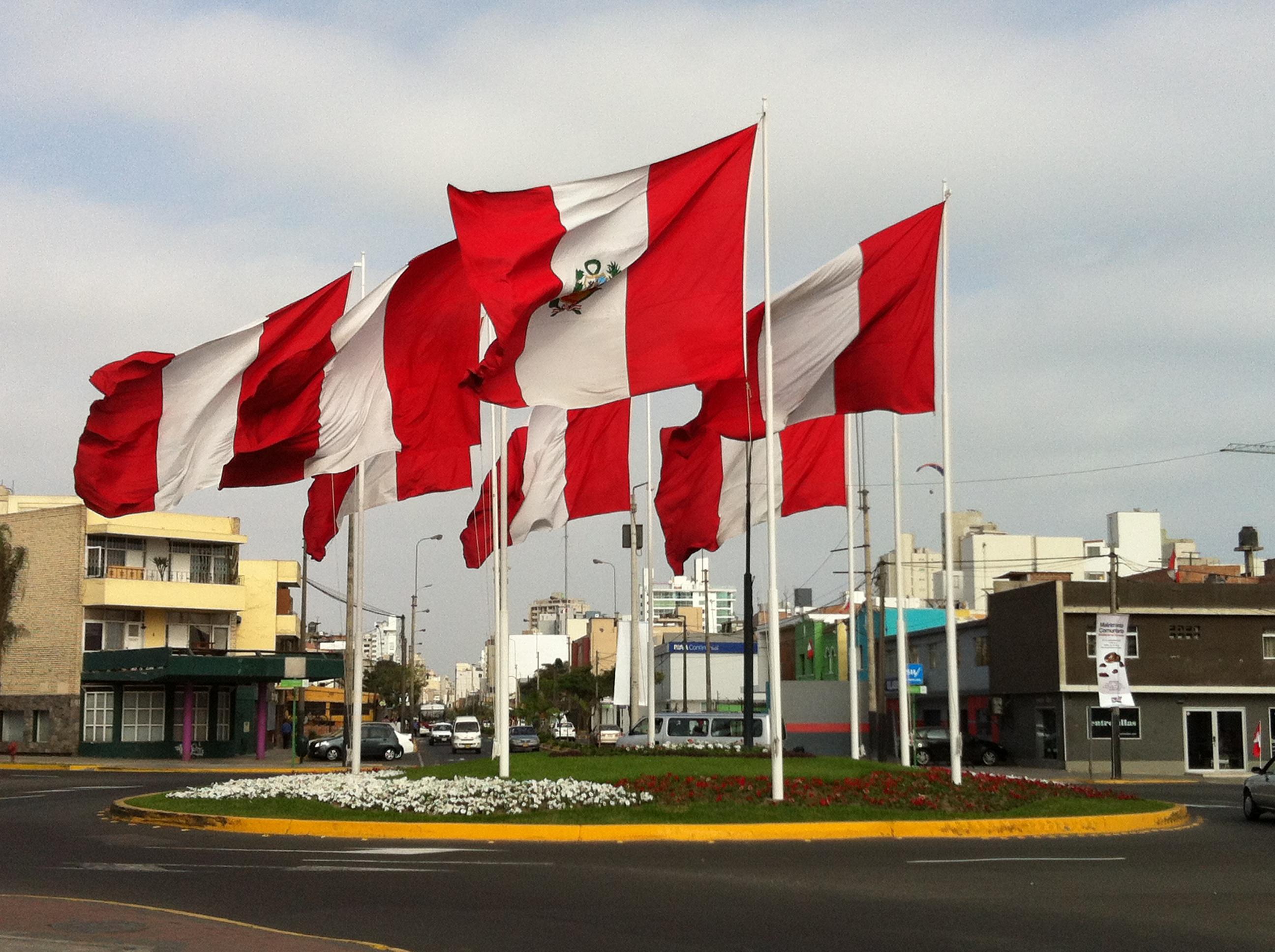 fiestas patrias, lima, bandeira lima