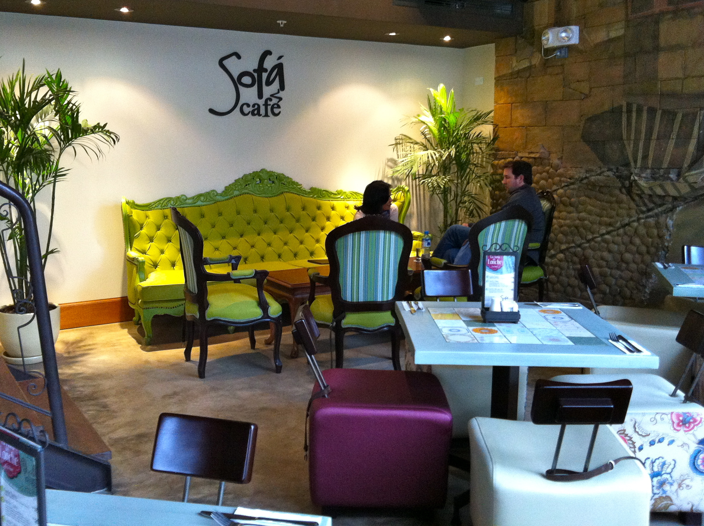 Sofa Cafe, Barranco, Lima