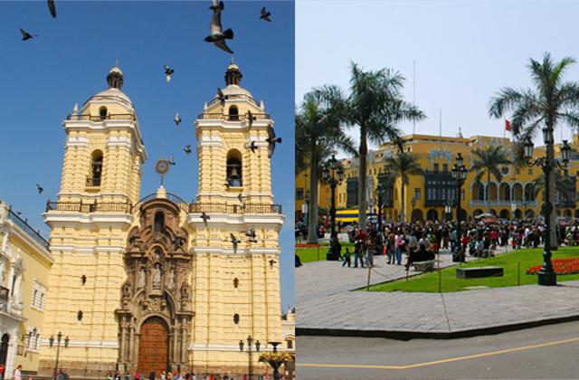 Centro, Lima, Convento San Francisco, Plaza de Armas