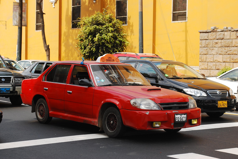 Taxi-lima