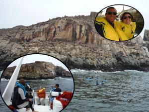 Ilhas, Lima, Mergulho, Leões marinhos