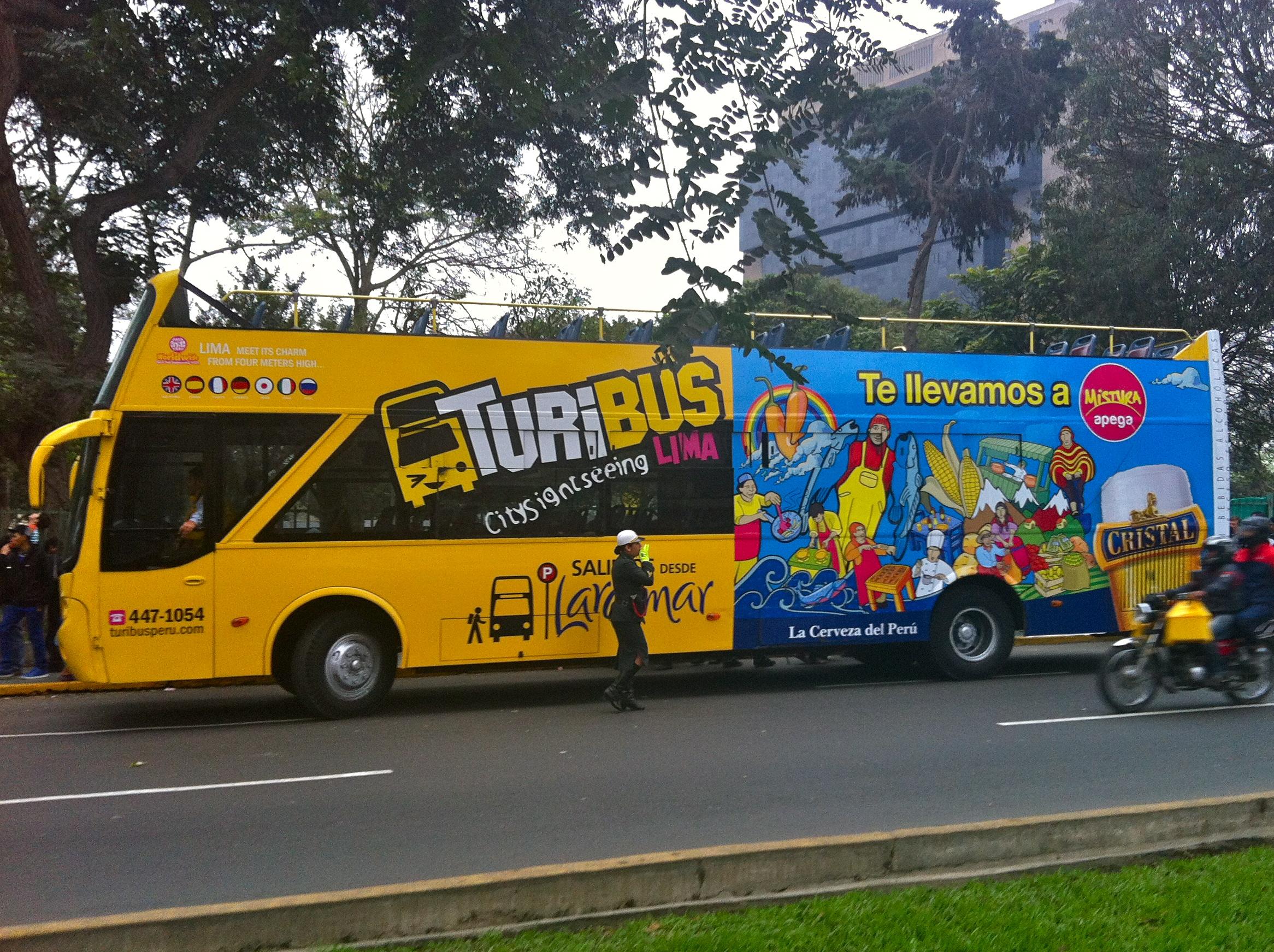 Turisbus, Lima