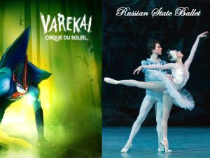 Cirque du Soleil Russian State Ballet