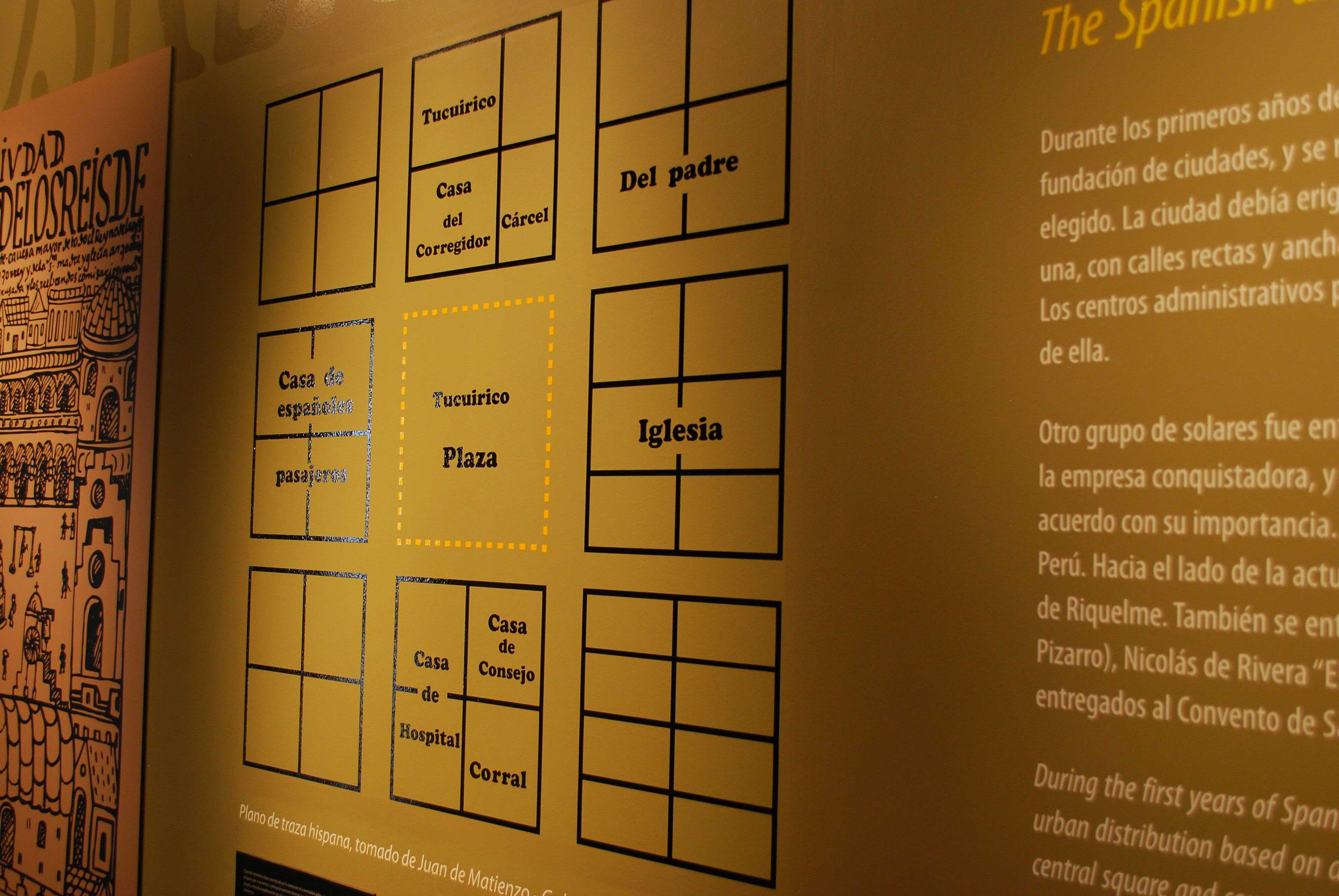 Exposição da história colonial peruana