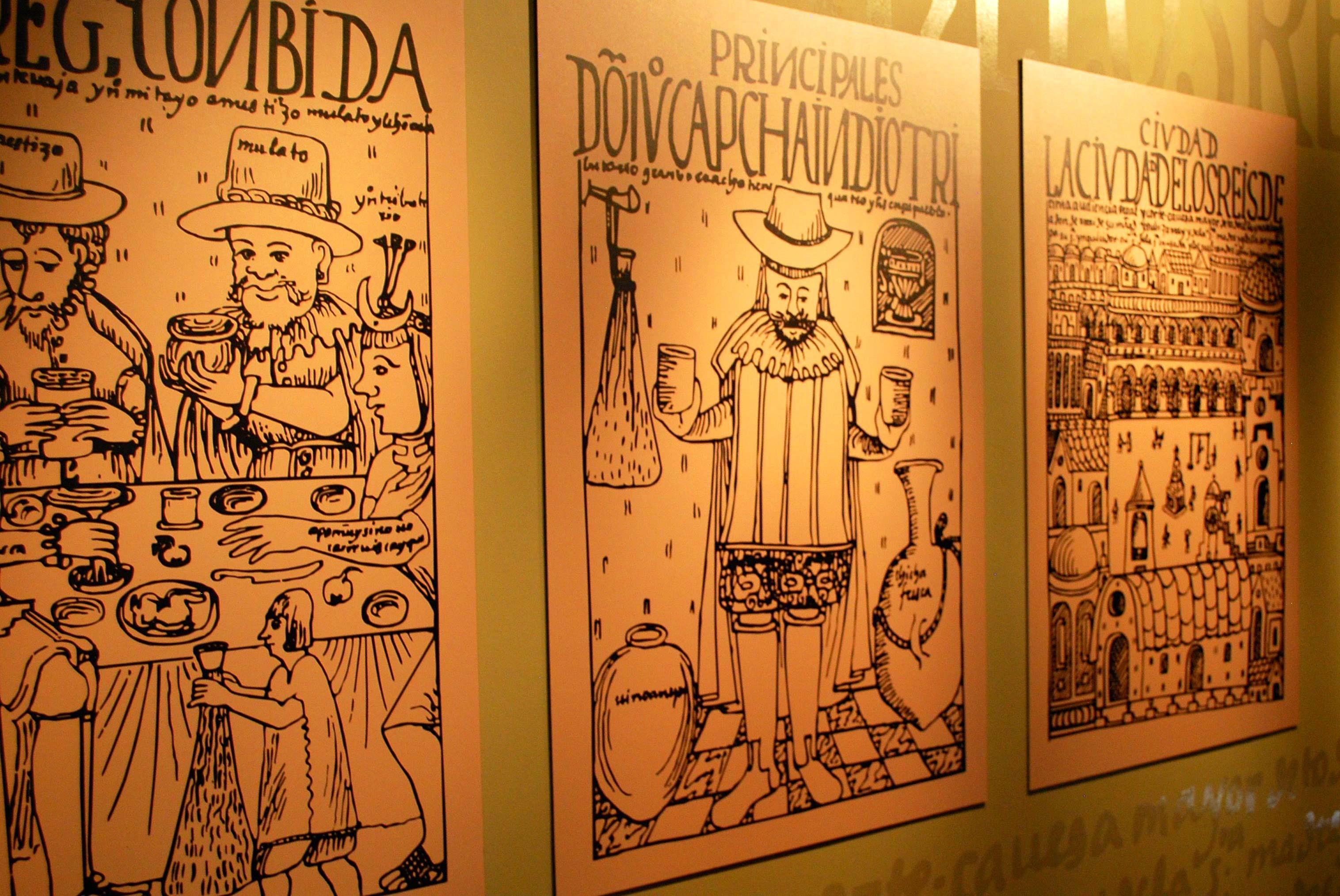 Ilustrações da época colonial em Lima