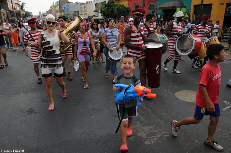 Carnaval em Barranco.