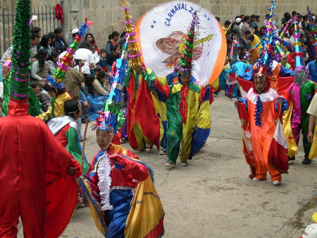 Carnaval em Cajamarca.