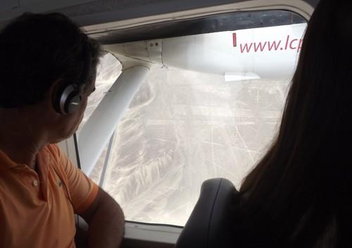 Avião LC Peru Nazca