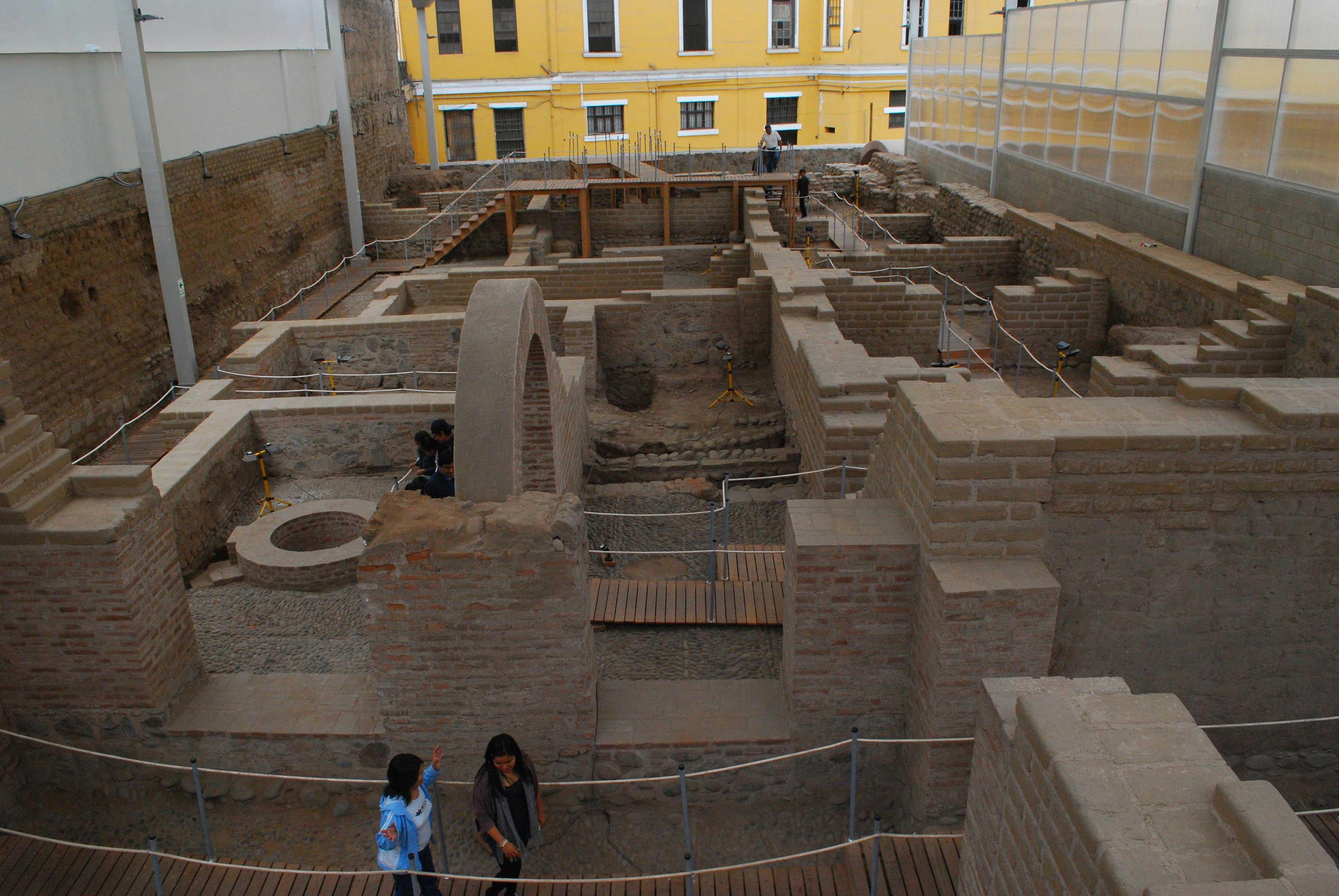 Museu Arqueológico em Lima