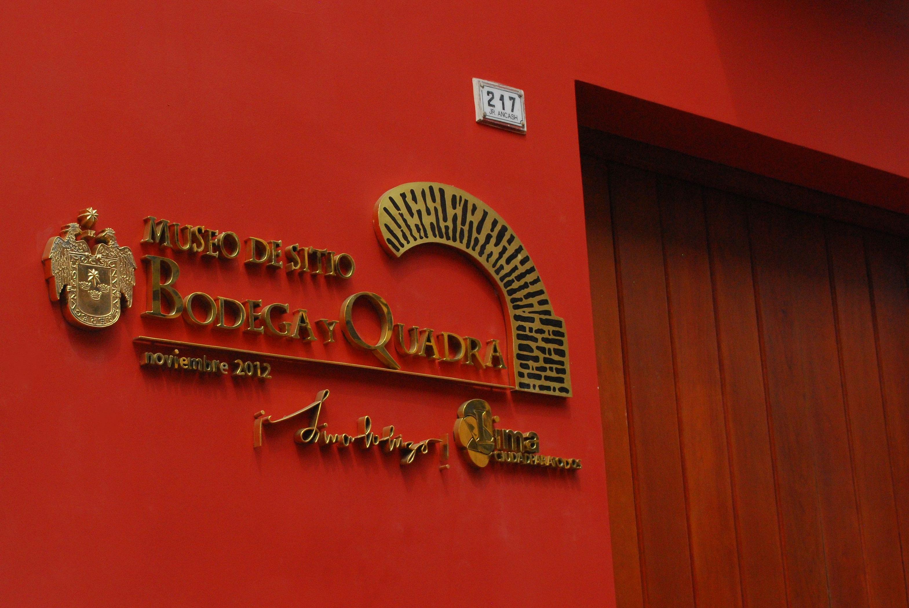 Museu bodega y Quadra de Lima