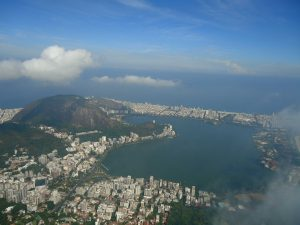 Lagoa Rodrigo de Freitas, no Rio de Janeiro