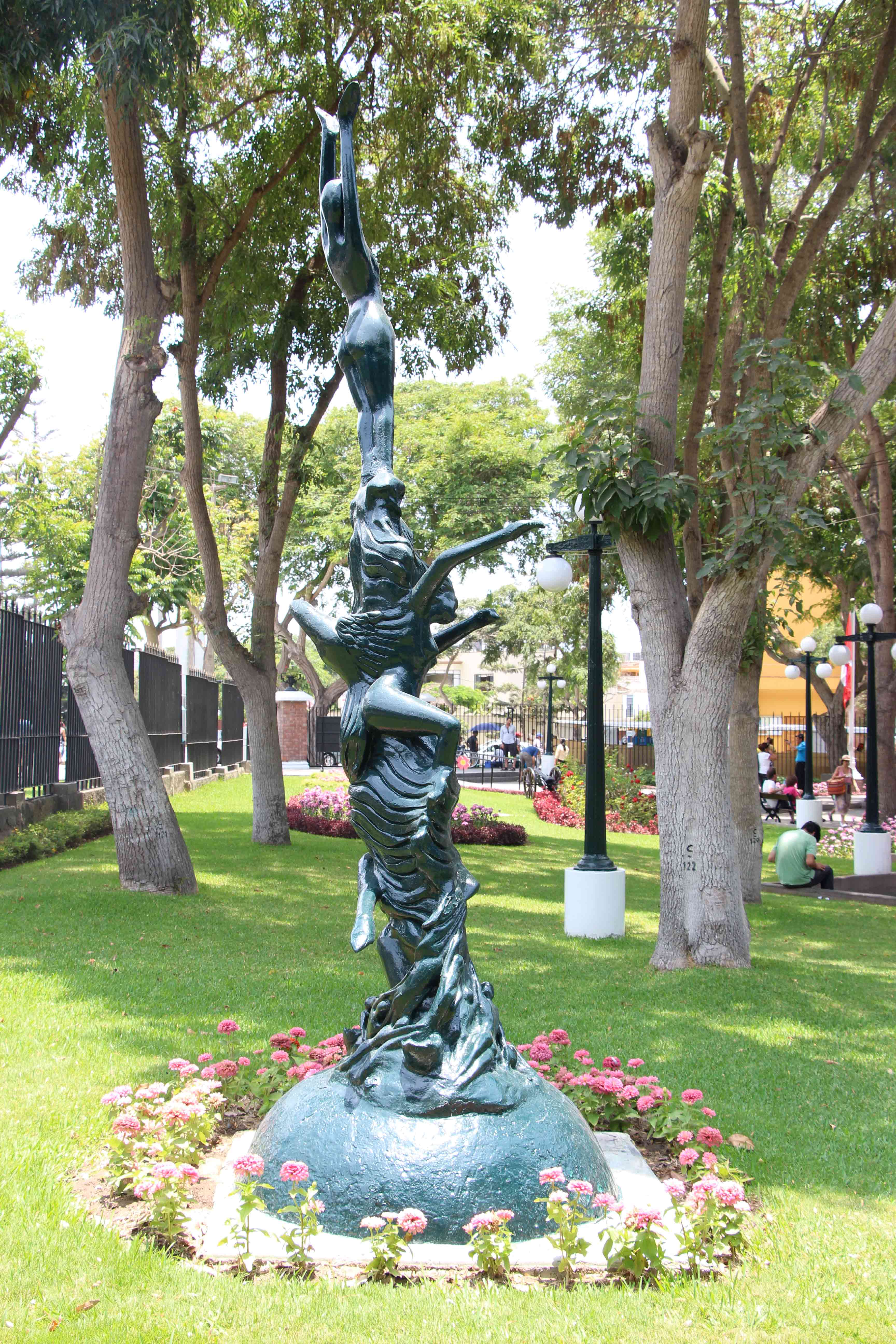Parque Reducto en Miraflores