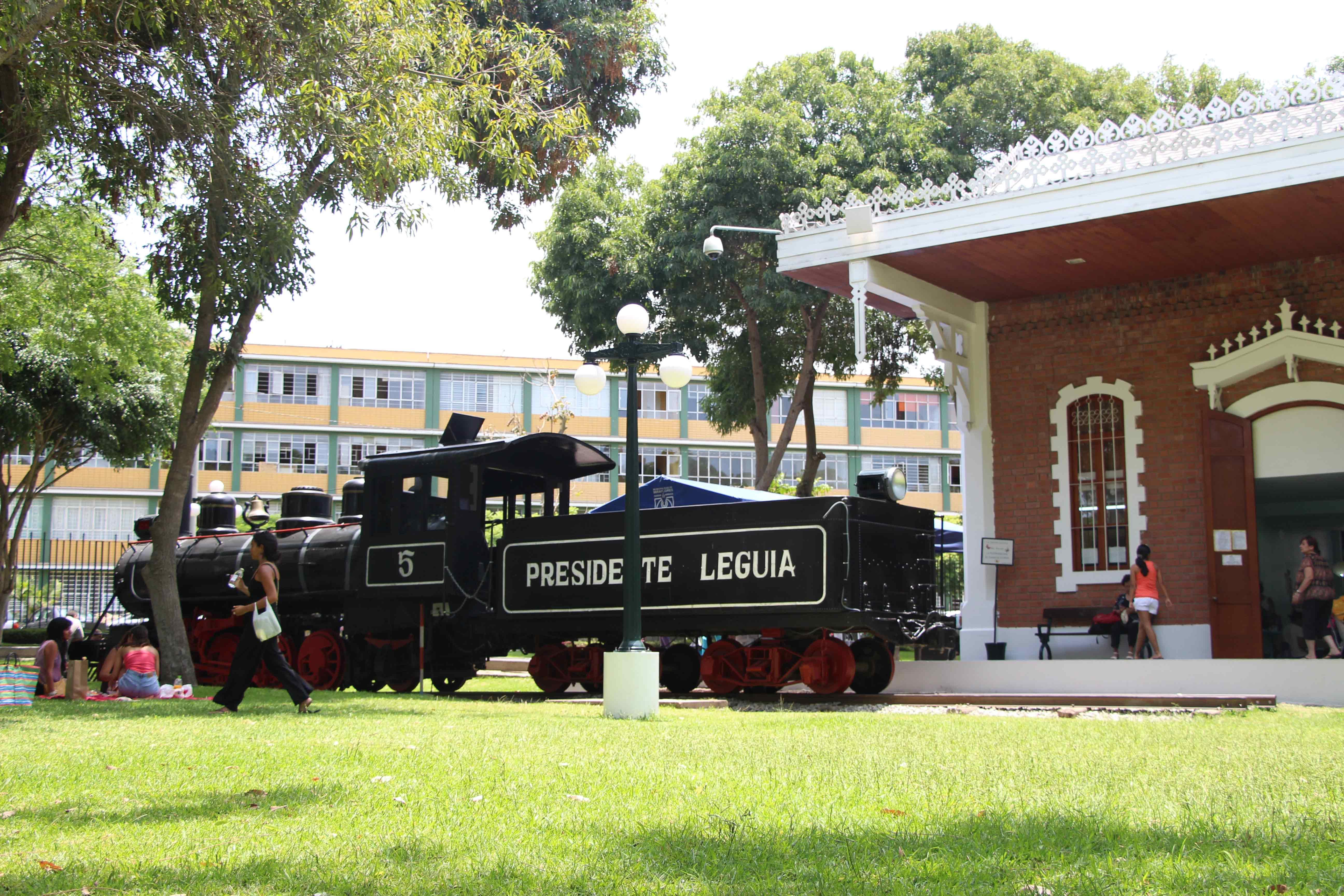 Antiga Estação Ferroviaria do Parque Reducto em Miraflores.