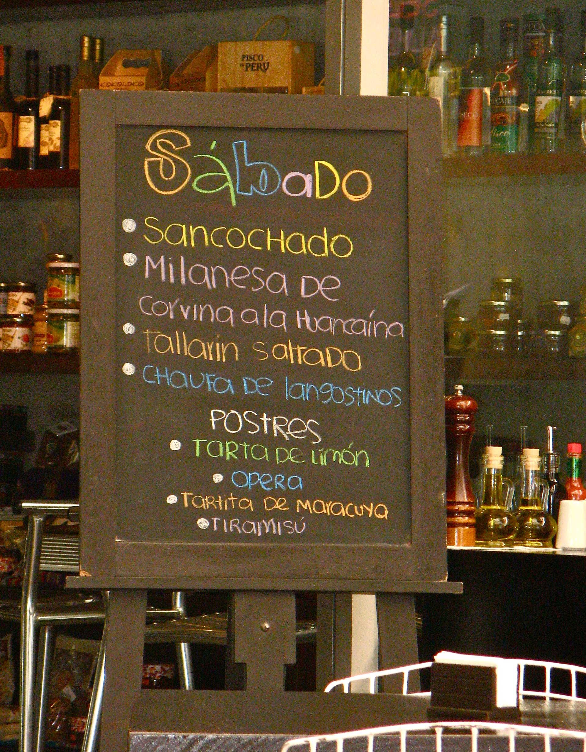 Restaurante T'anta em San Isidro, Lima