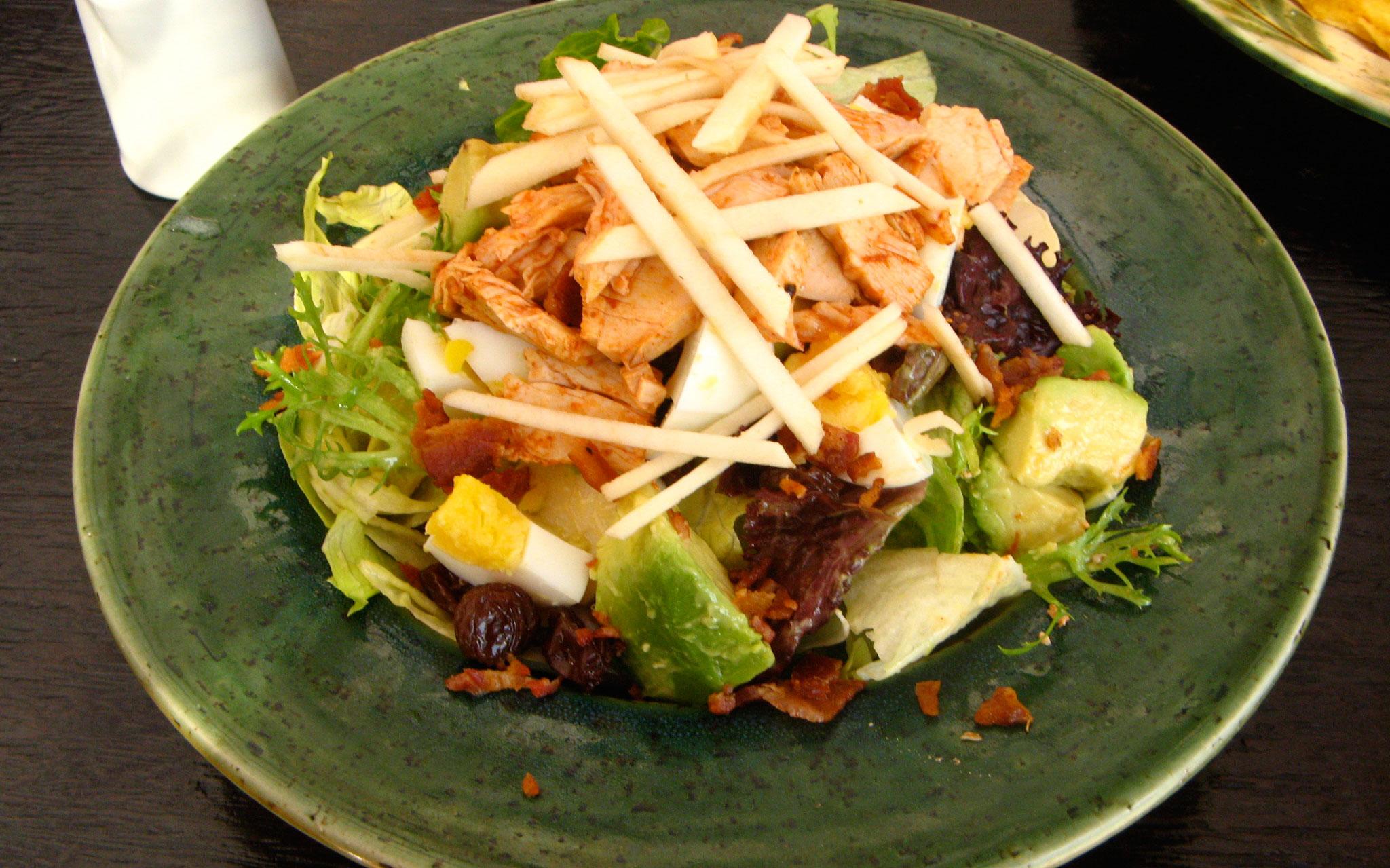 Salada do Restaurante Tanta em San Isidro, Lima