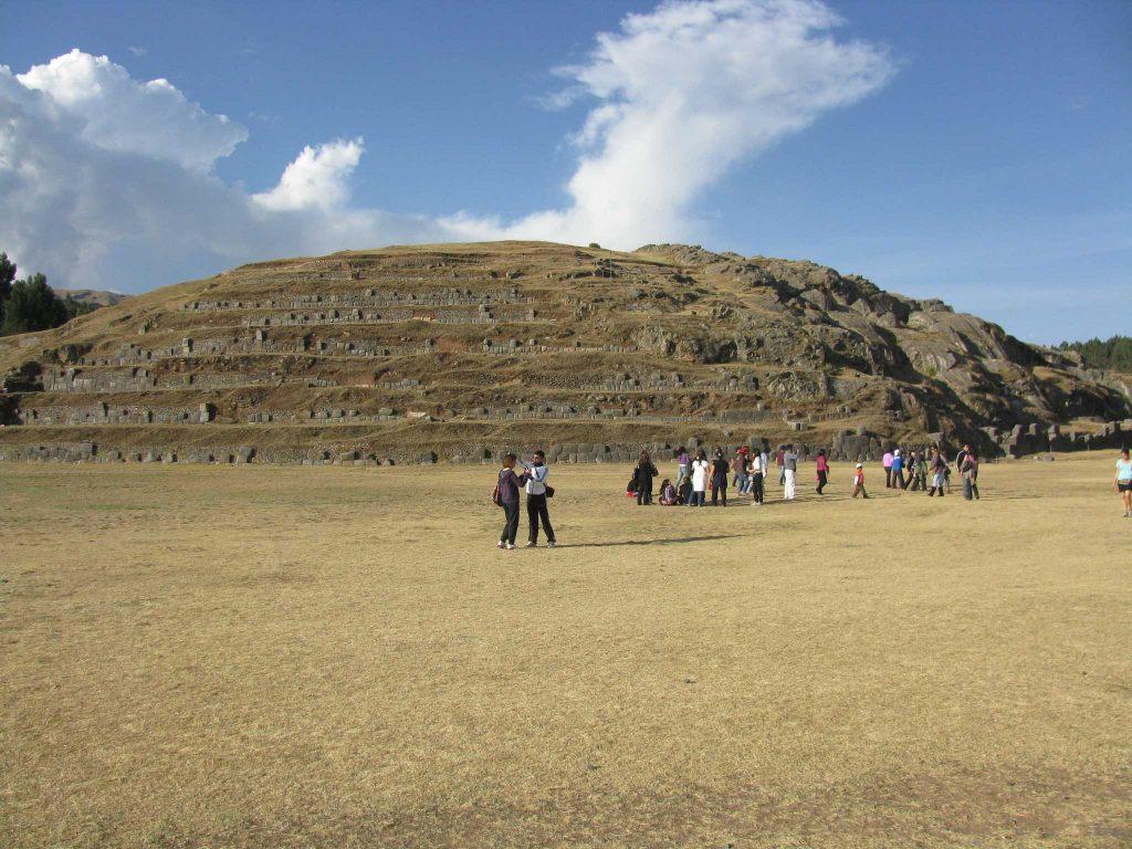 Sacsaywaman, na região de Cusco, Peru