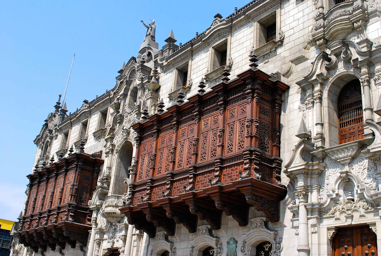 Palacio Arzobispal de Lima no centro histórico
