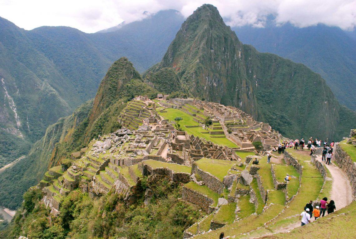 Vista geral Machu Picchu