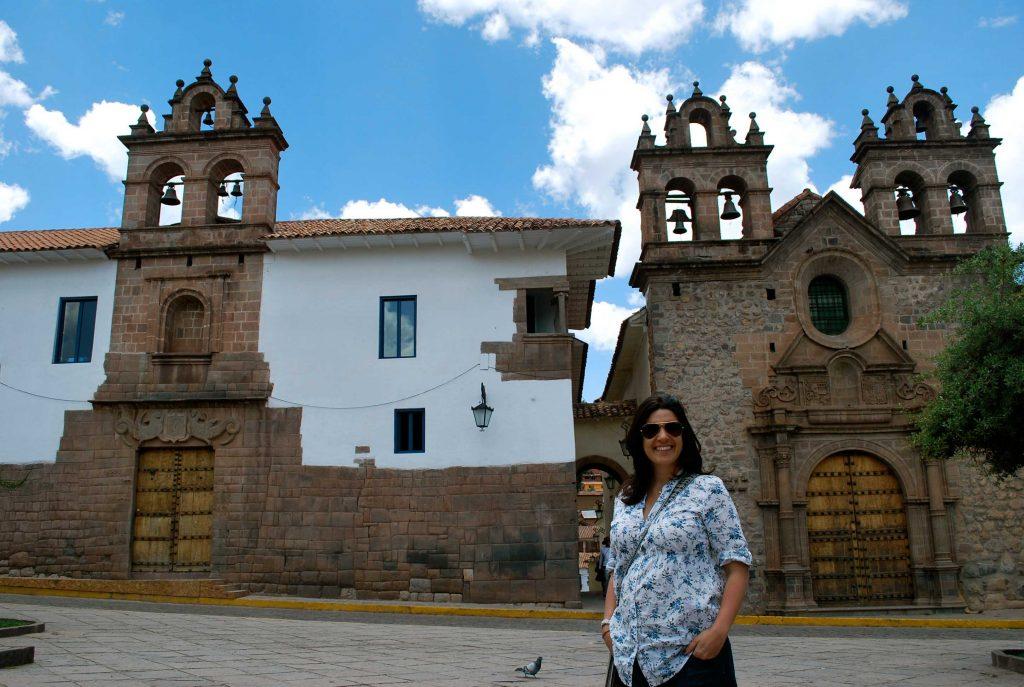 Plazoleta Nazarenas, praça de San Bras, em Cusco, Peru.
