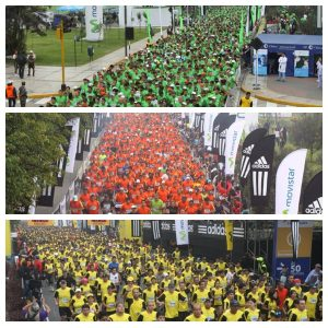 imagens oficiais dos três últimos anos da maratona de lima