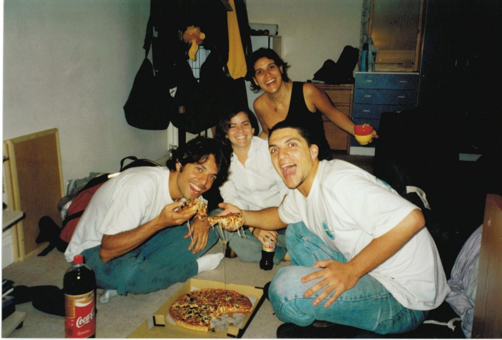 Londres com os amigos (2002).