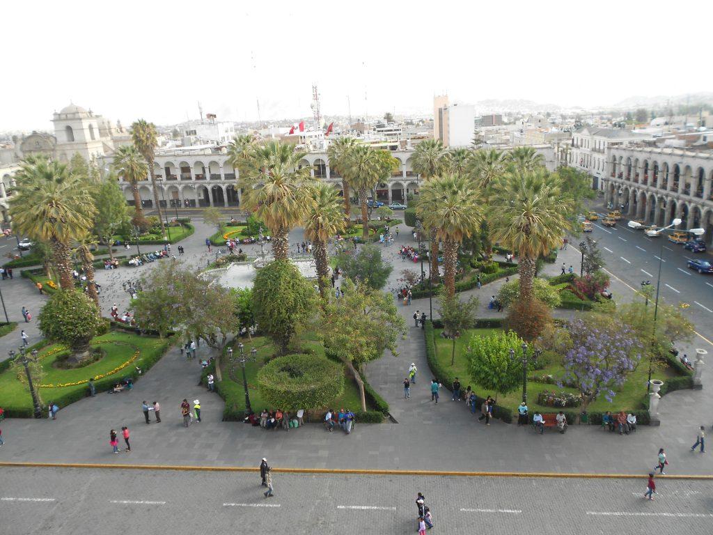 Praça de armas de Arequipa