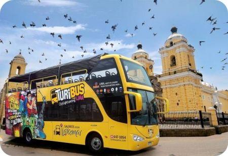 Turibus no centro da cidade