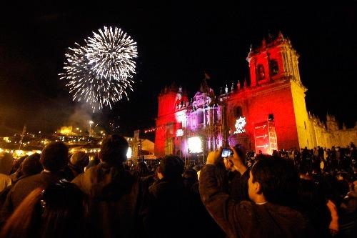 Reveillón em Cusco. Foto: http://blog.viajespacifico.com.pe