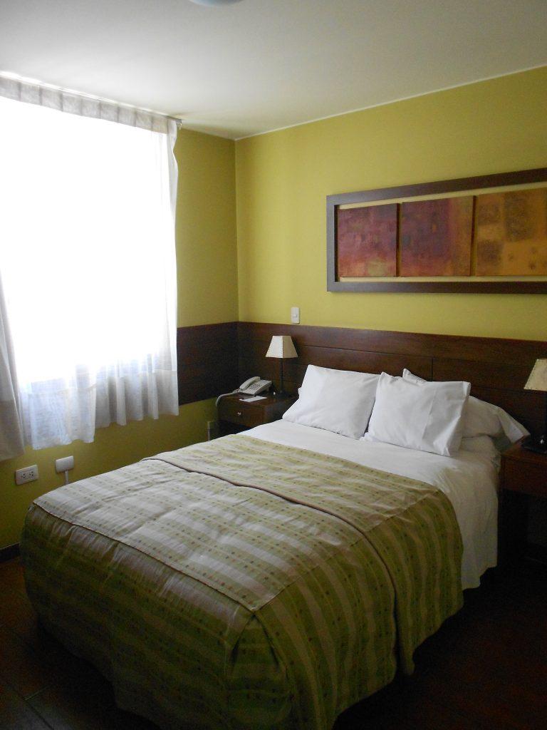 Nosso quarto - Hotel Los Tambos.