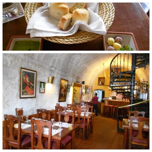 Restaurante Zig Zag - entrada e salão.