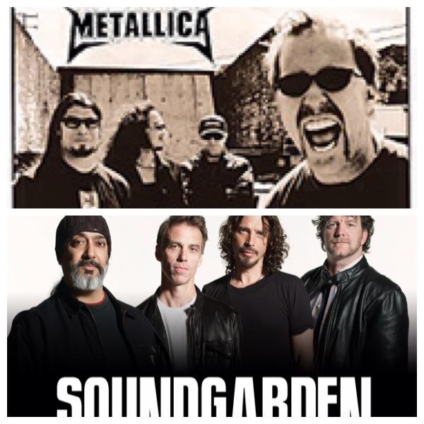 metallica e soundgarden
