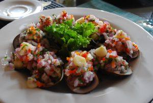 Prato do La Mar, em Lima, no PEru