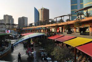 Shopping Larcomar, em Lima, Peru.