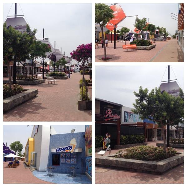 Vários pontos do boulevard durante o dia