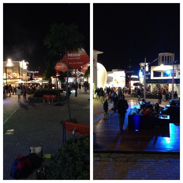 Boulevard à noite