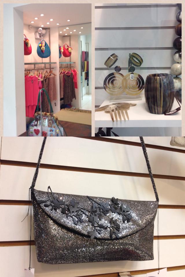 Na galeria também se vende roupas, sapatos, bolsas, bijuterias e até algumas jóias, tudo produzido por artistas nacionais.