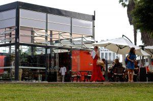 Cafe do Museu de Arte Contemporanea, MAC Lima, Peru