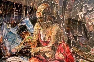 Obra de Vik Muniz no MAC Lima, Barranco.