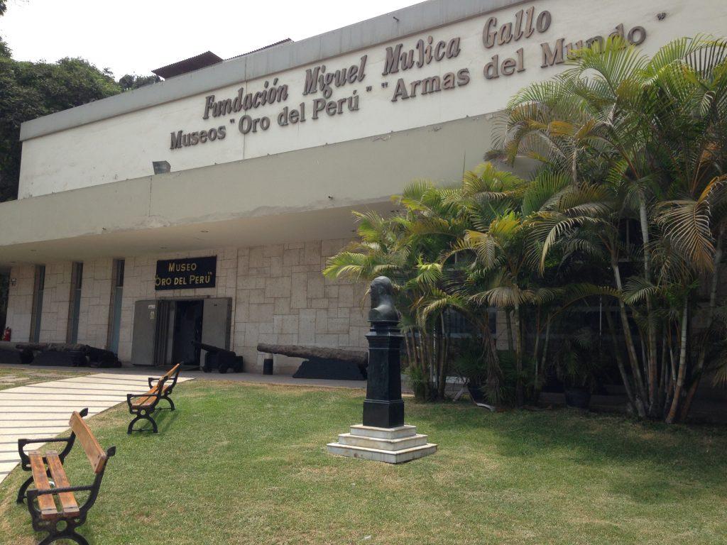 Museu do Ouro, em Lima, Peru.