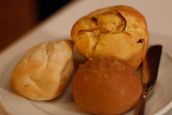 pães da casa, restaurante huaca pucllana