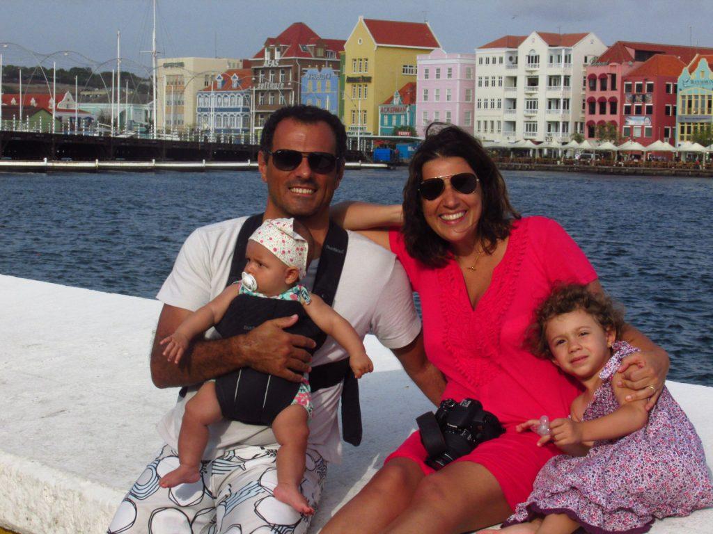 Férias em Curaçao.