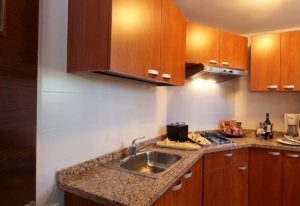 Cozinha do Marriott Executive Panama City