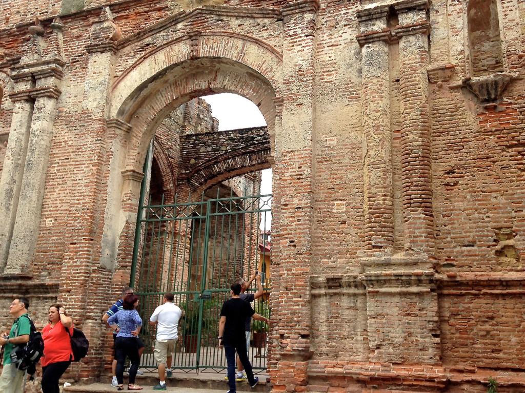 El Arco Chato na Cidade do Panamá