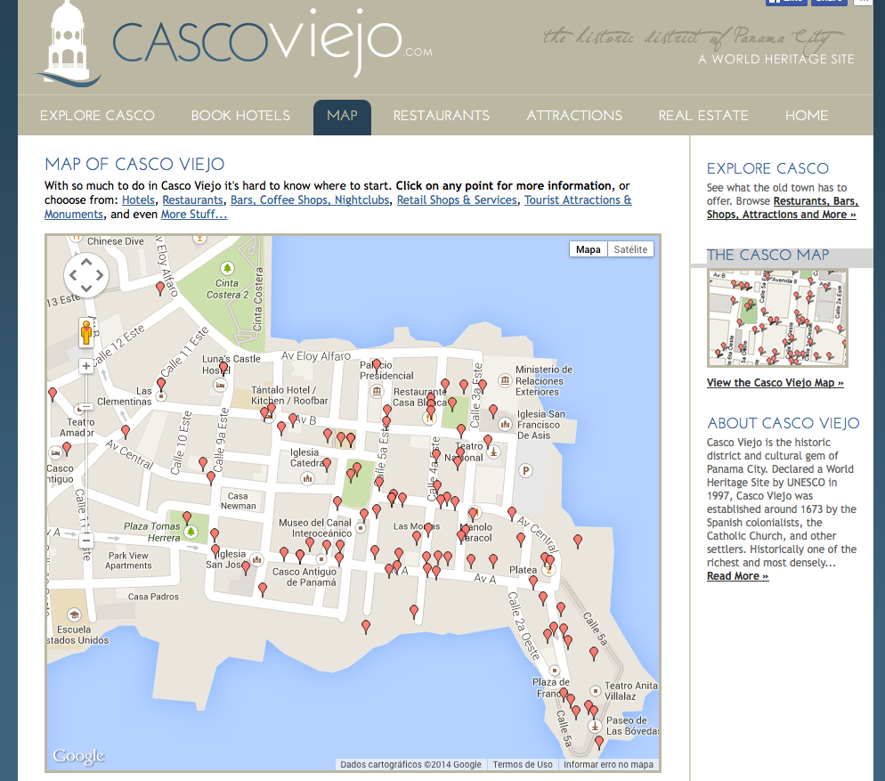 Site Casco Viejo