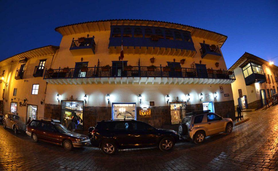 Fachada Hotel Royal Inka I. Foto: divulgação site.