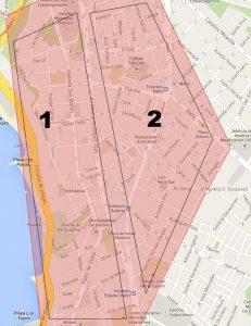 Mapa de Barranco