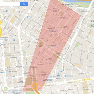 Mapa do Centro.