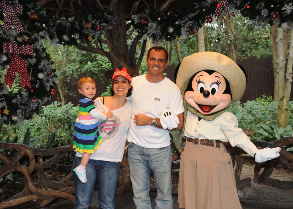 Nós e a Minnie.